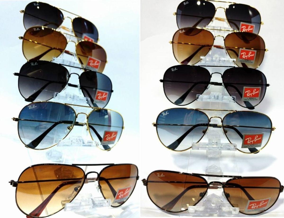 a3fff16c1 óculos de sol ray ban aviador 3025 e 3026 masculino e feminino - óculos sem-