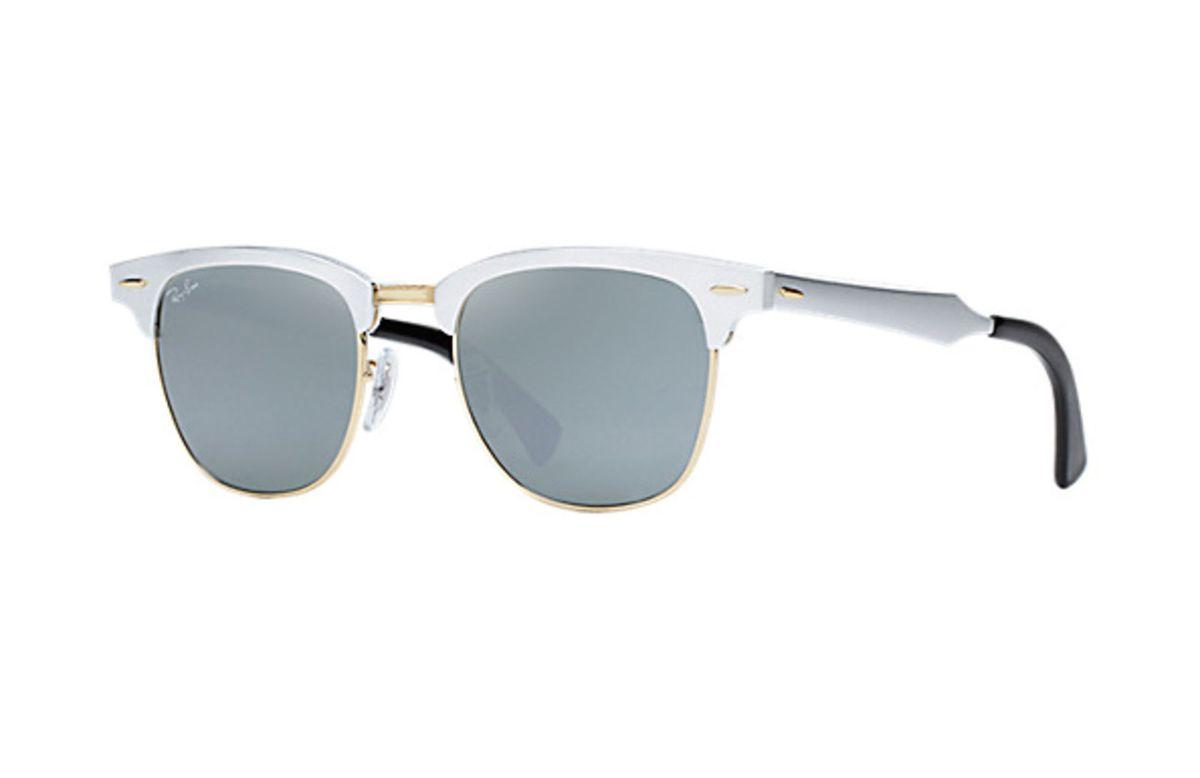 Óculos de Sol Ray-ban Clubmaster Alumínio Rb3507 - Prata   Produto Feminino Ray  Ban Nunca Usado 13556847   enjoei bdbeb7c7a2