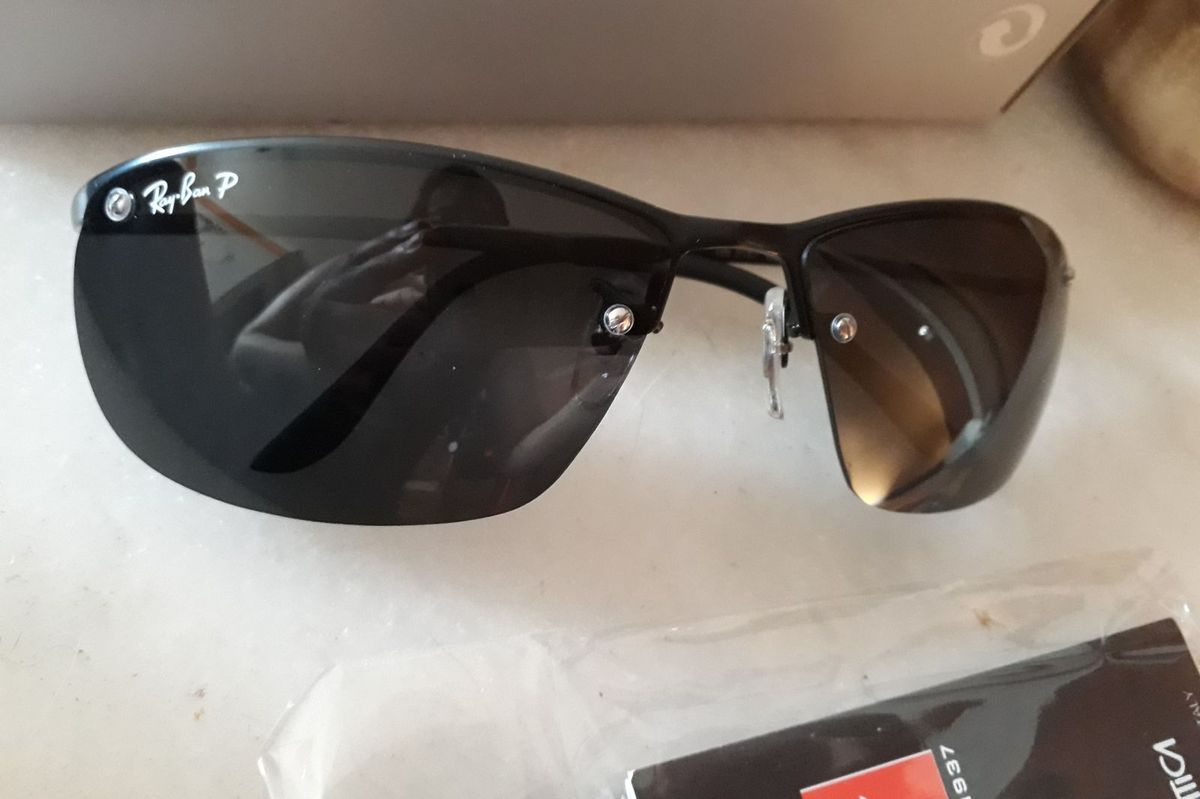 Óculos de Sol Ray Ban Demolidor Polarizado Masculino Lente de Cristal    Óculos Masculino Ray Ban Nunca Usado 28424837   enjoei 80d05d9275
