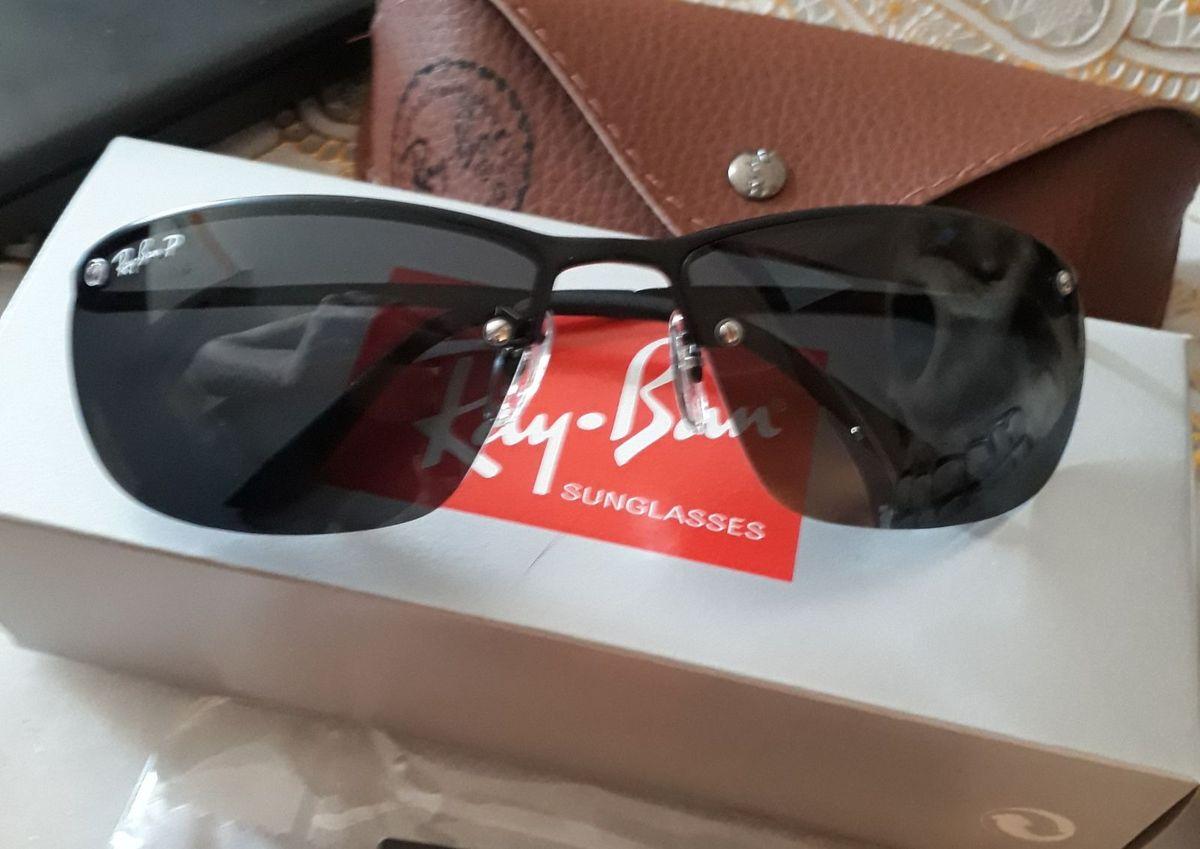 óculos de sol ray ban demolidor polarizado masculino lente de cristal - óculos  ray-ban f7ddcc60ac