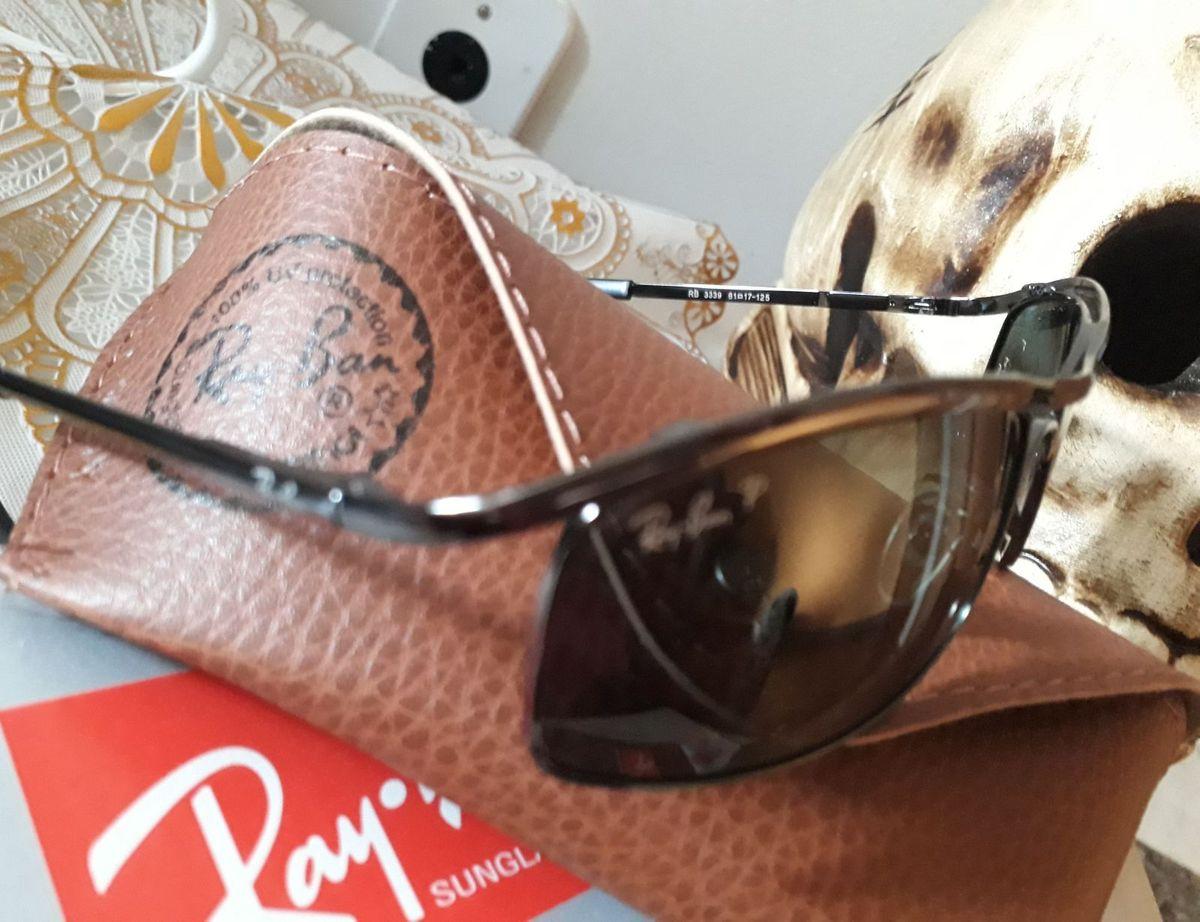 Óculos de Sol Ray Ban Demolidor Polarizado Novo   Óculos Masculino Ray Ban  Nunca Usado 28425196 f407ac9ff3