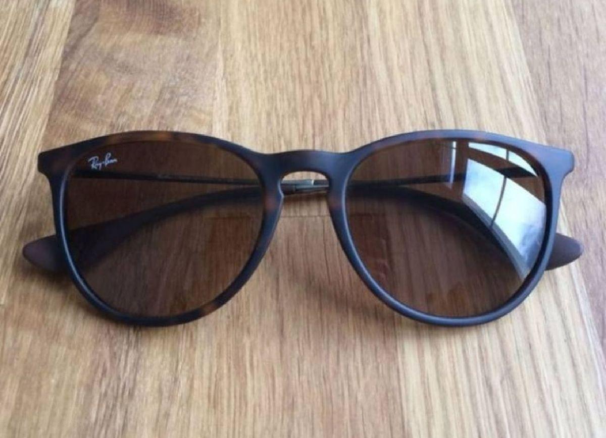 be7313c3fa997 Óculos de Sol Ray Ban Érika 4171 Tartaruga Fosco Degradê Feminino ...