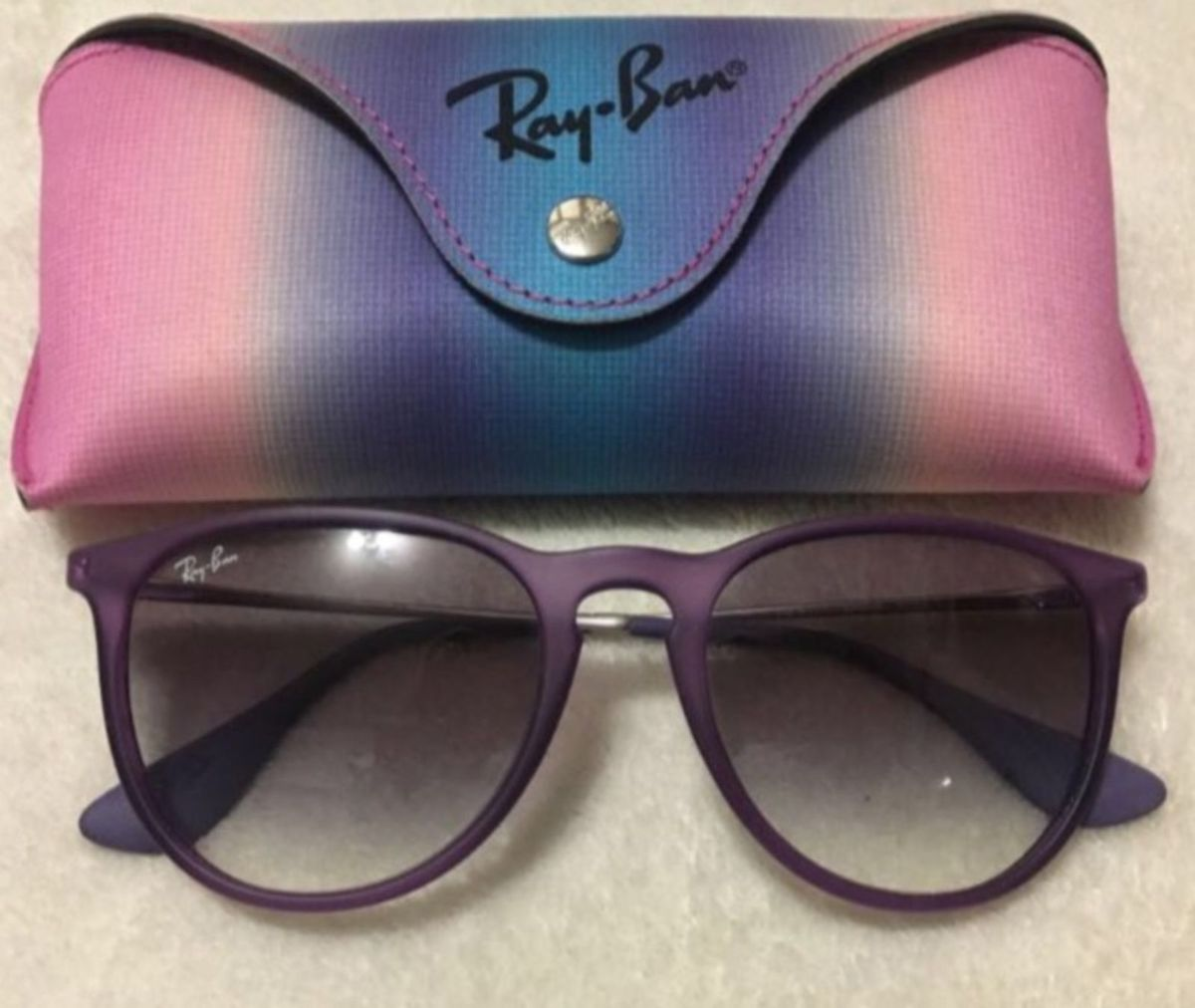 ray-ban roxo - óculos ray-ban.  Czm6ly9wag90b3muzw5qb2vplmnvbs5ici9wcm9kdwn0cy84ndc2mji5l2vmodmynme2njdlyznmztkzzjjin2u4mjdhotjkzmuzlmpwzw  ... ad23d6befb