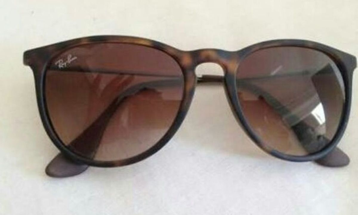 Óculos de Sol Ray Ban Erika Tartaruga Novo Lindo   Óculos Feminino ... 3949d223a6