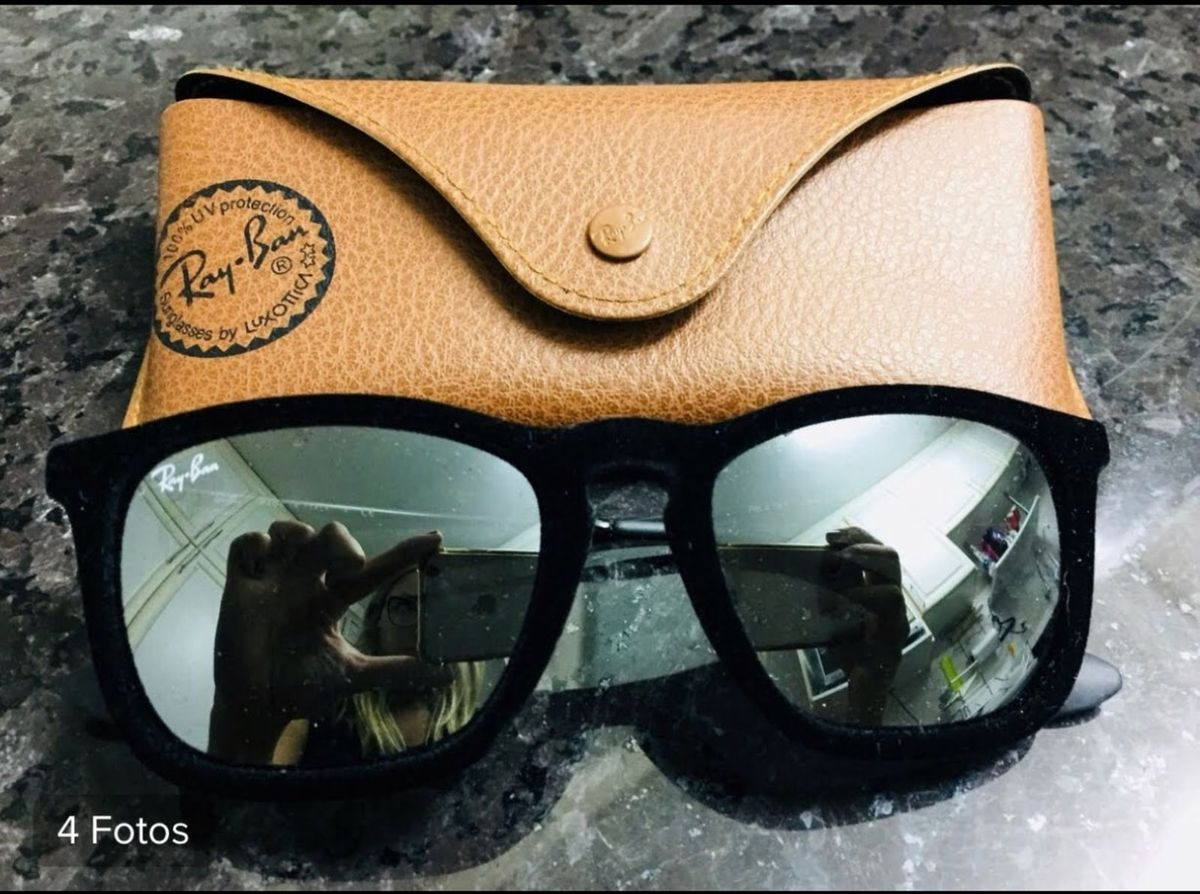 5a49d6e05b964 óculos de sol ray ban erika velvet - óculos ray-ban