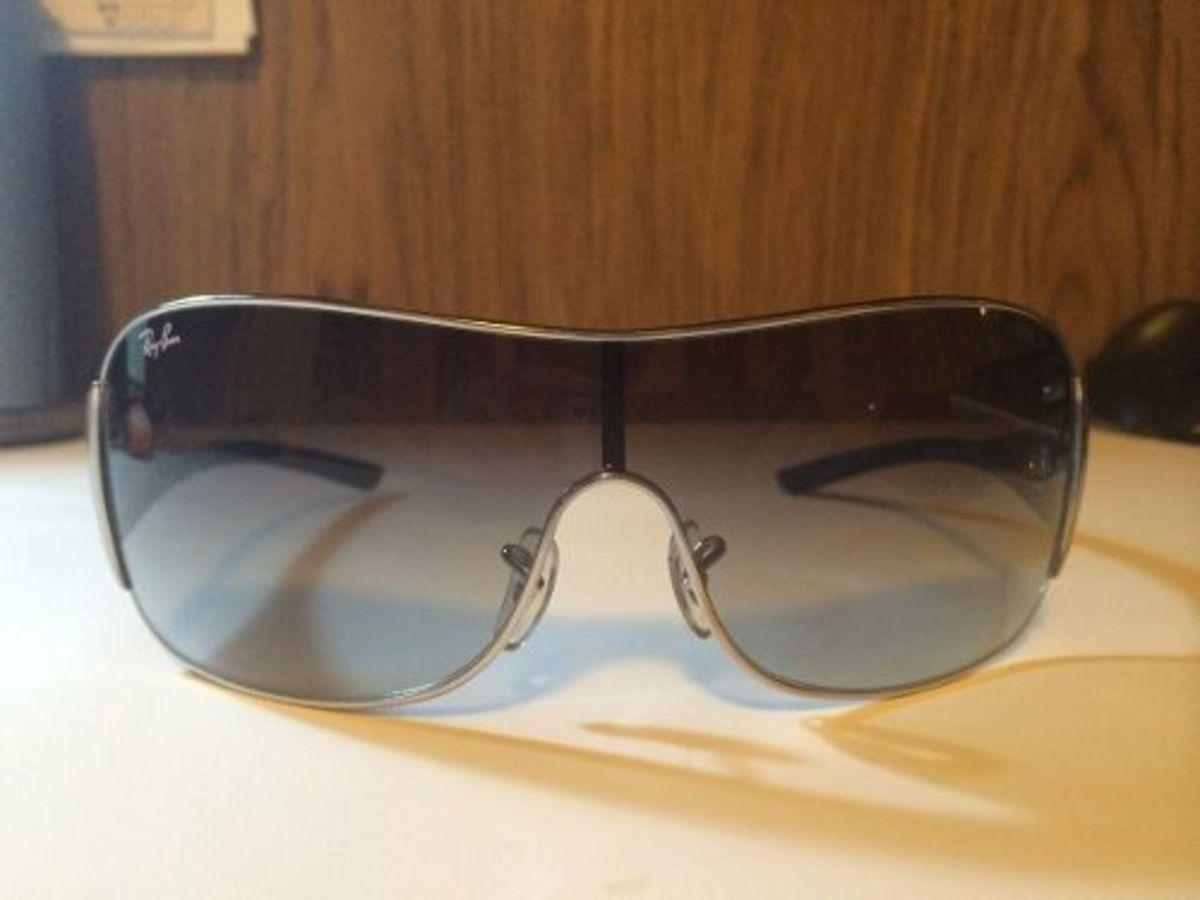 óculos de sol ray ban feminino rb 3321 042 perteito estado! - óculos ray- a275f62b65