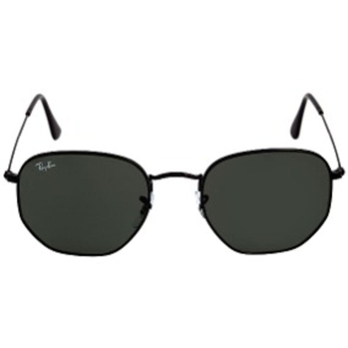 701aed35551f9 Oculos de Sol Ray-ban Hexagonal Preto Quadradinho Feminino Masculino ...