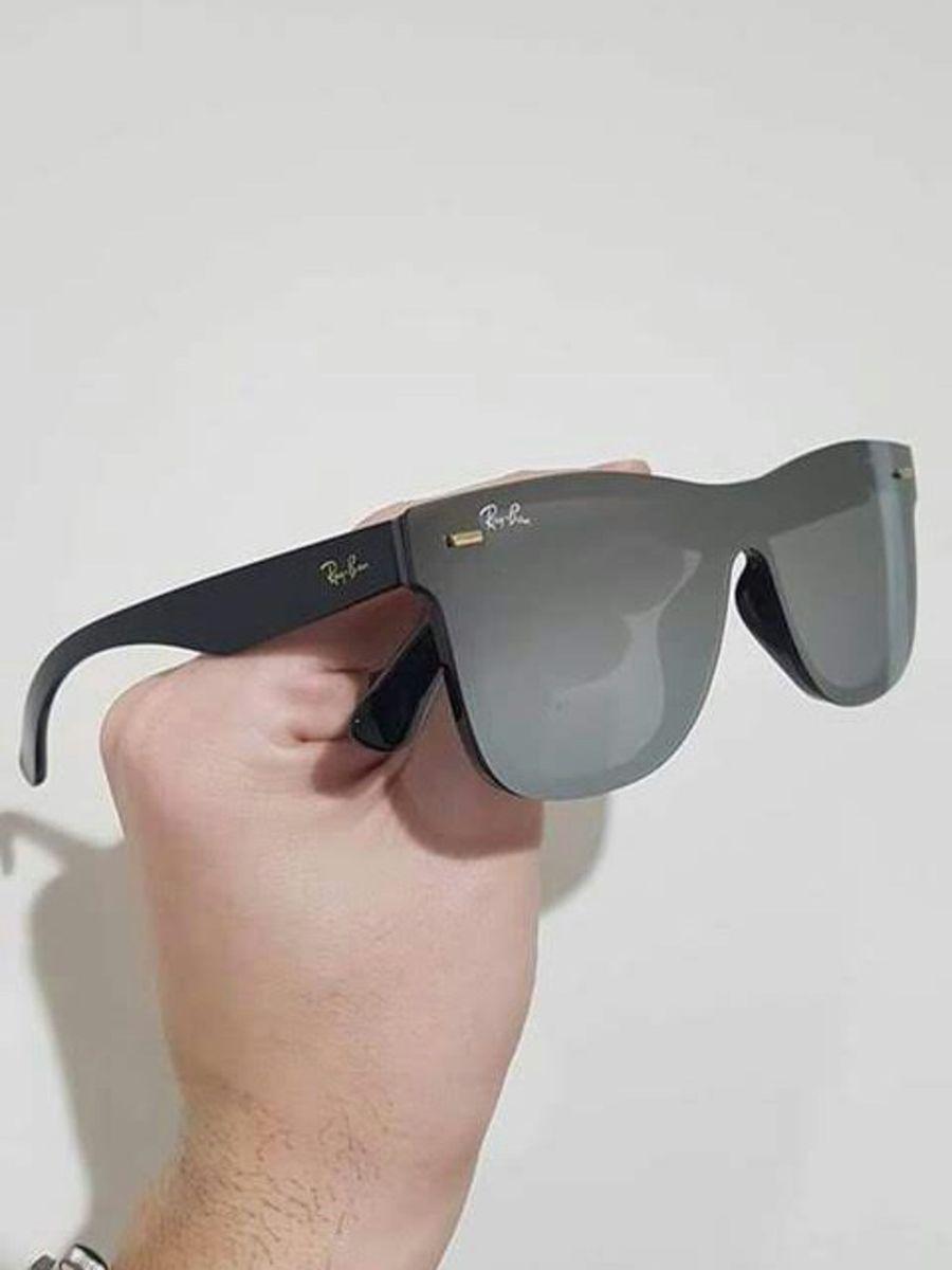 4a40cec96 óculos de sol ray ban blaze justin unissex novo na caixa com kit - óculos  ray