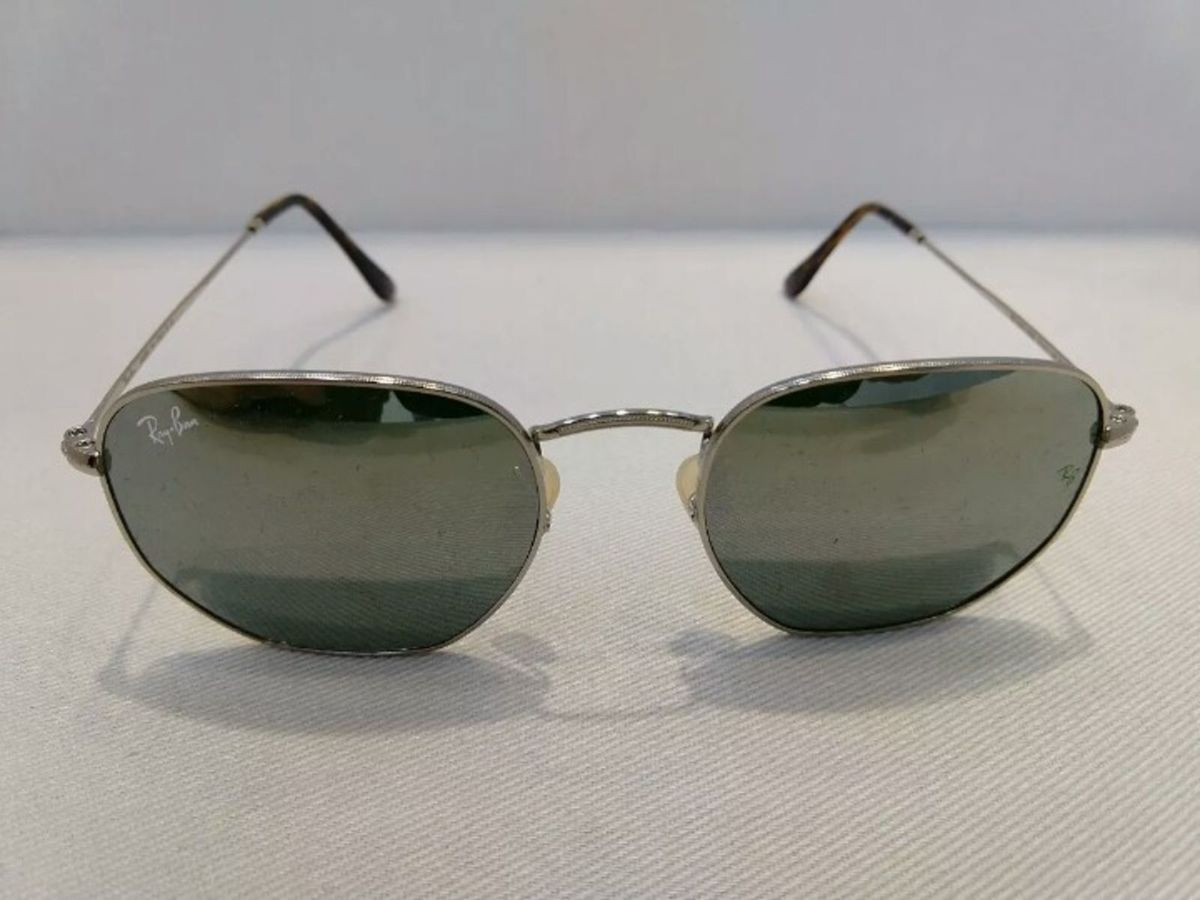 Óculos de Sol Ray Ban Hexagonal Rose Novo Na Caixa com Kit   Óculos  Masculino Ray Ban Nunca Usado 30805460   enjoei 9f1257c2e0