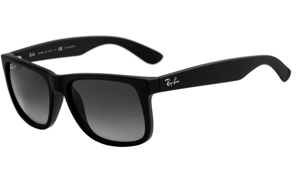 2b043e147 Óculos de Sol Ray Ban Justin Preto Masculino | Óculos Masculino Ray ...