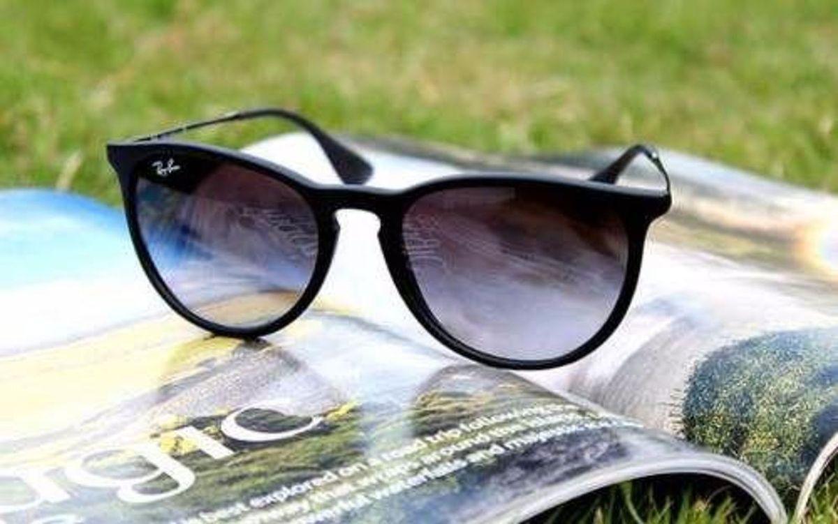 aaeaba2e6b010 óculos de sol ray ban modelo érika 4171 feminino e masculino - óculos ray- ban