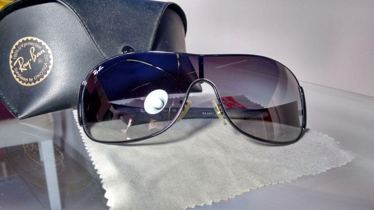 Óculos de Sol Ray-ban Rb 3321 Original   Óculos Masculino Ray Ban ... 0b0af39782