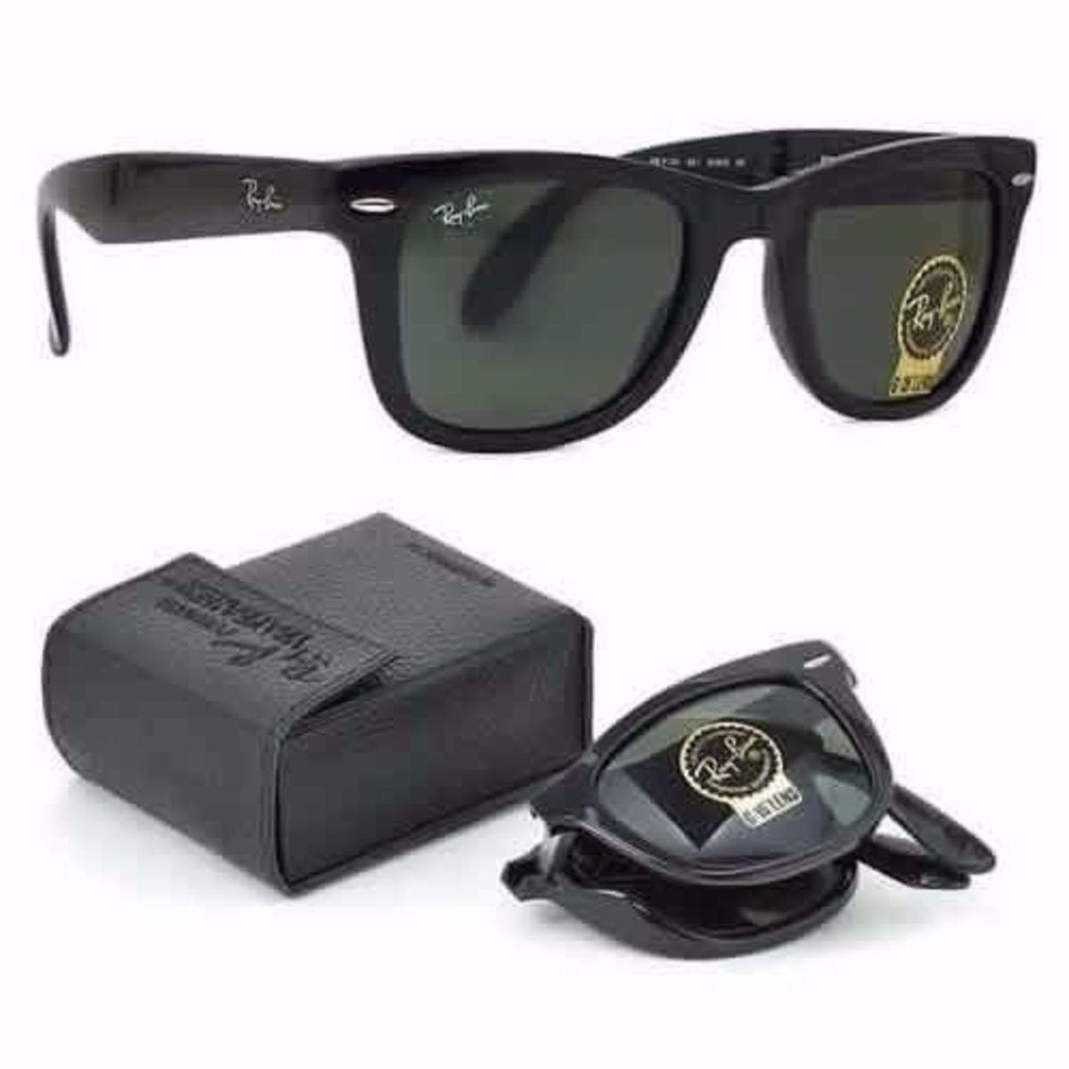 8d11129b8 Óculos de Sol Ray Ban Wayfarer Dobrável Rb4105   Óculos Feminino Ray Ban  Nunca Usado 20391916   enjoei
