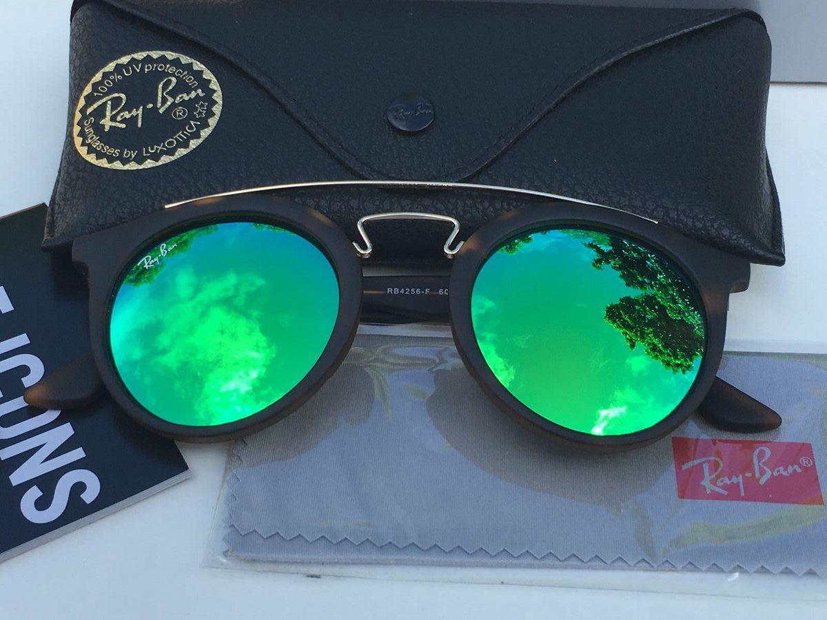 204ed5565 óculos de sol rayban gatsby redondo rb4256 original - óculos rayban