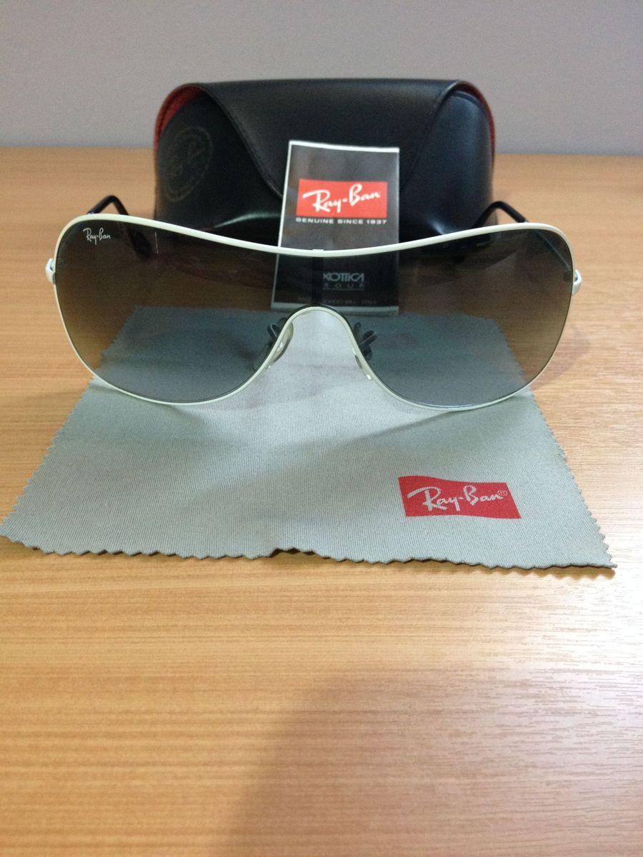 5c71a1cb8 óculos de sol rayban máscara rb 3211 original certificado - óculos ray-ban