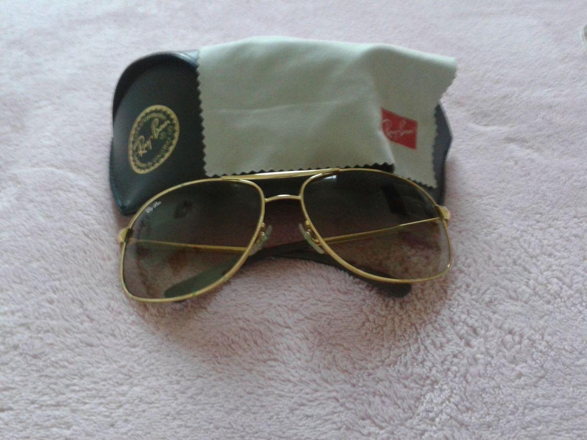 Óculos de Sol Rayban Modelo 3387 001 13   Óculos Feminino Ray Ban ... b8512dd737
