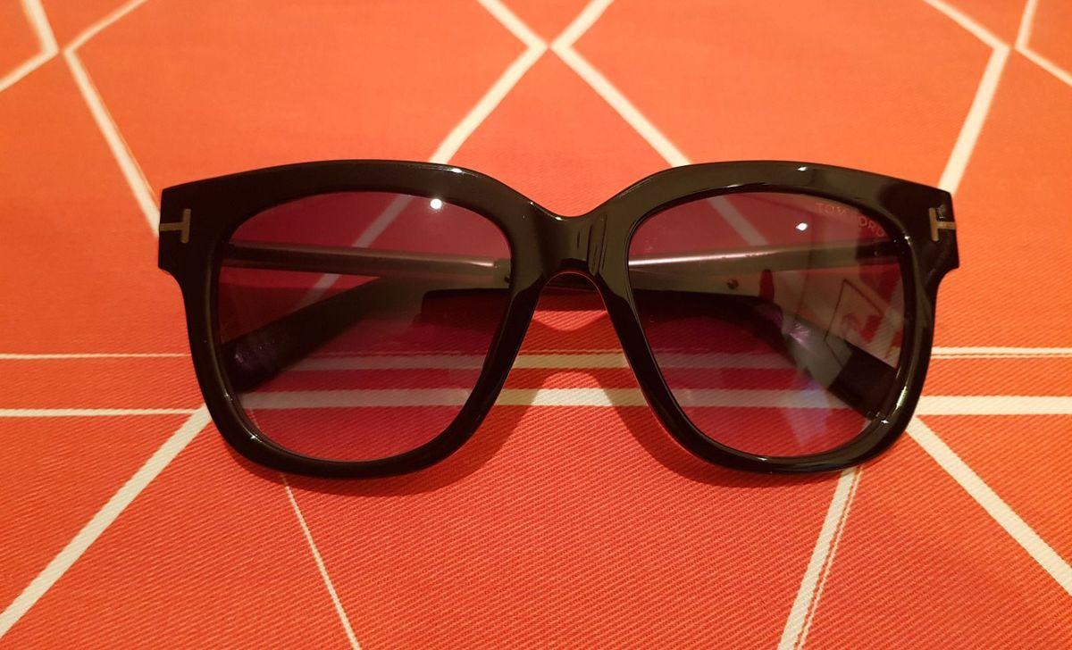 Óculos de Sol Tom Ford Tracy Tf436 Preto Original   Óculos Feminino ... 1b628482ce