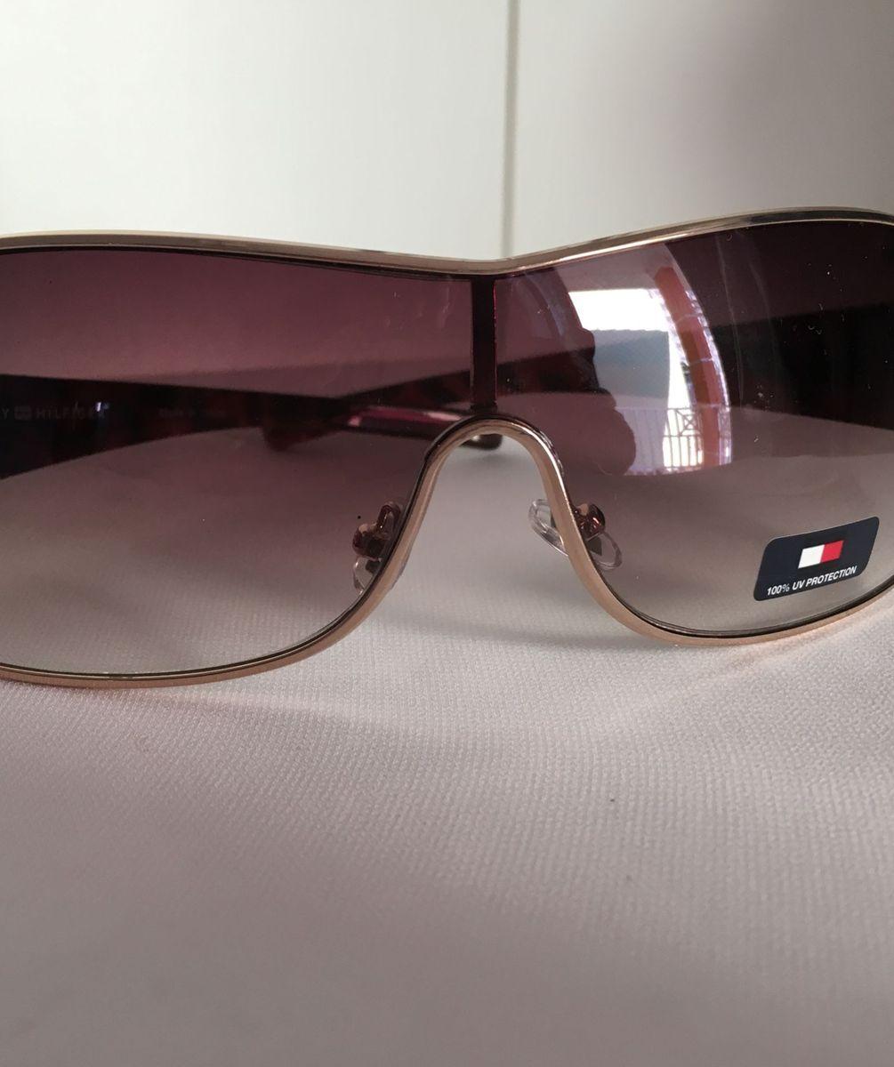 8d0507584e2a2 óculos de sol tommy hilfiger. original tipo máscara - óculos tommy hilfiger