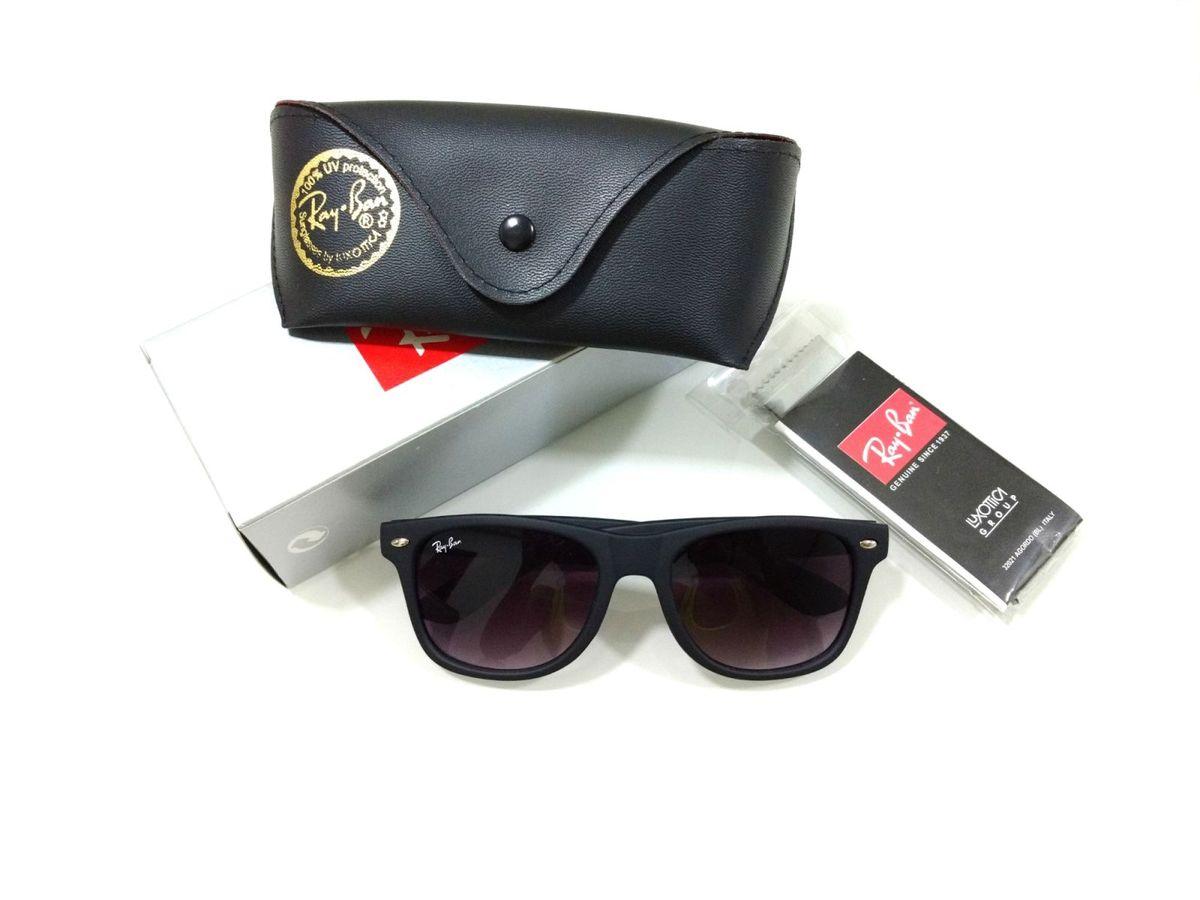 c68037f395da6 óculos de sol wayfarer rayban fosco masculino e feminino - óculos ray-ban