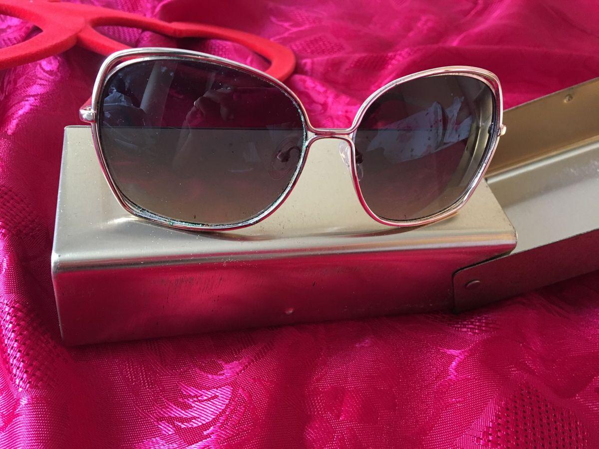 67af0fe3ab53e Óculos Dourado Coleção Chilli Beans   Óculos Feminino Chilli Beans ...