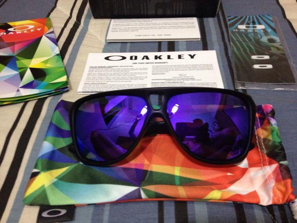 Óculos Escuros Oakley Dispatch 2 Violet Iridium   Óculos Masculino ... d0bd994a82