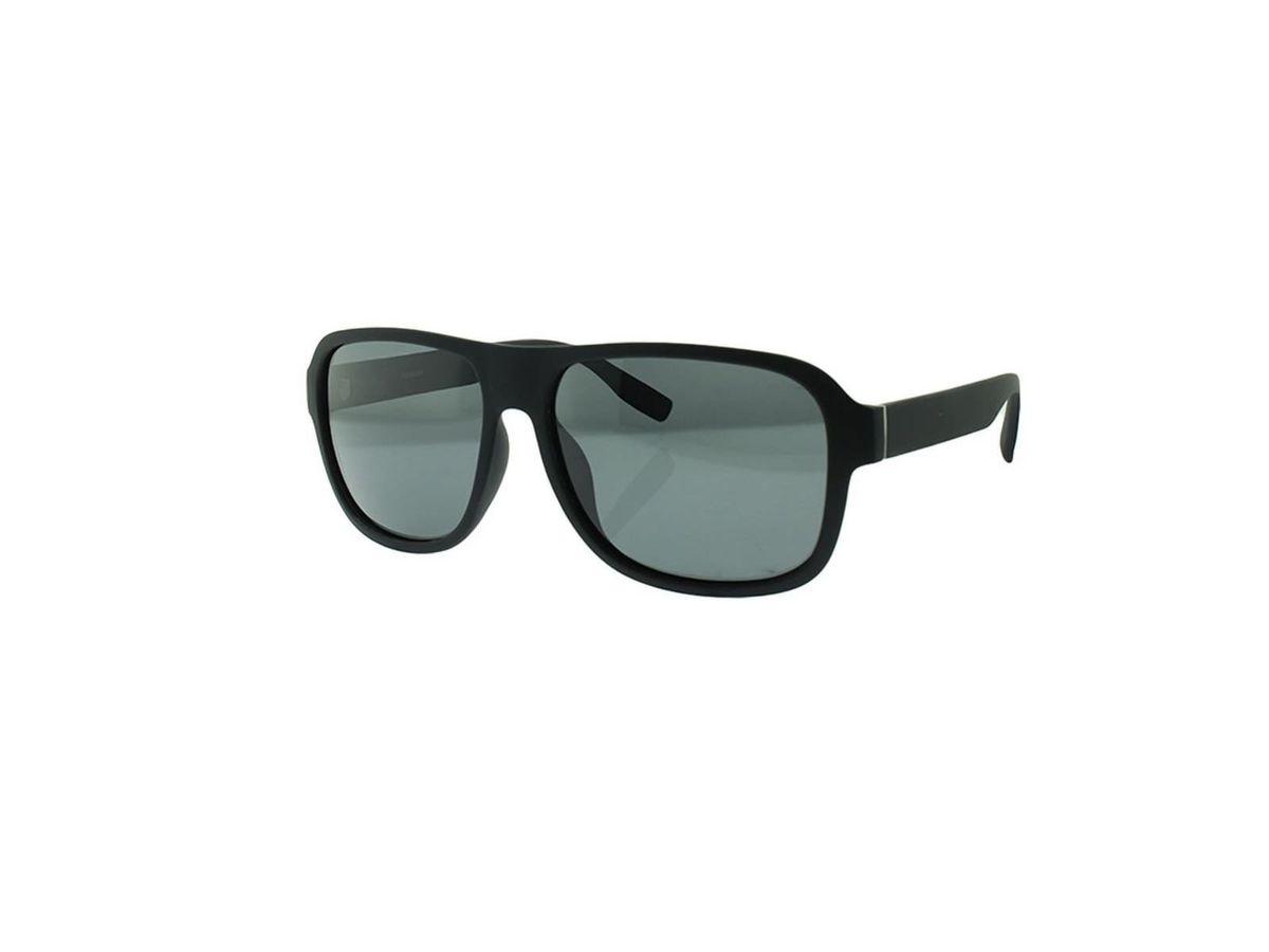 d23097b00d72c Óculos Escuros Preto Masculino Polarizado em Tr90 com Proteção Uv Retrô  Vintage Moda Masculina