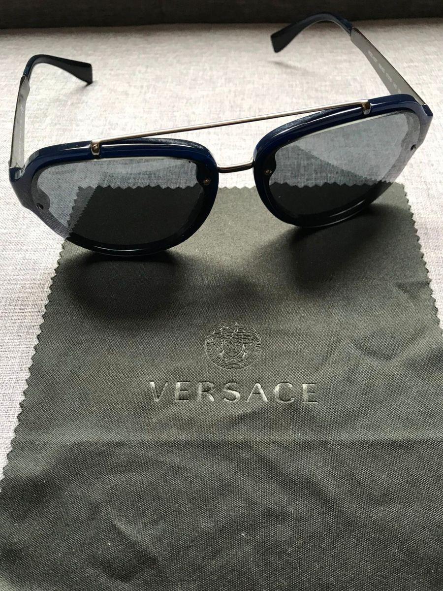 Oculos Escuros Versace Medusa Ve 4327. Lindo.   Óculos Masculino ... 43f8d61aa6
