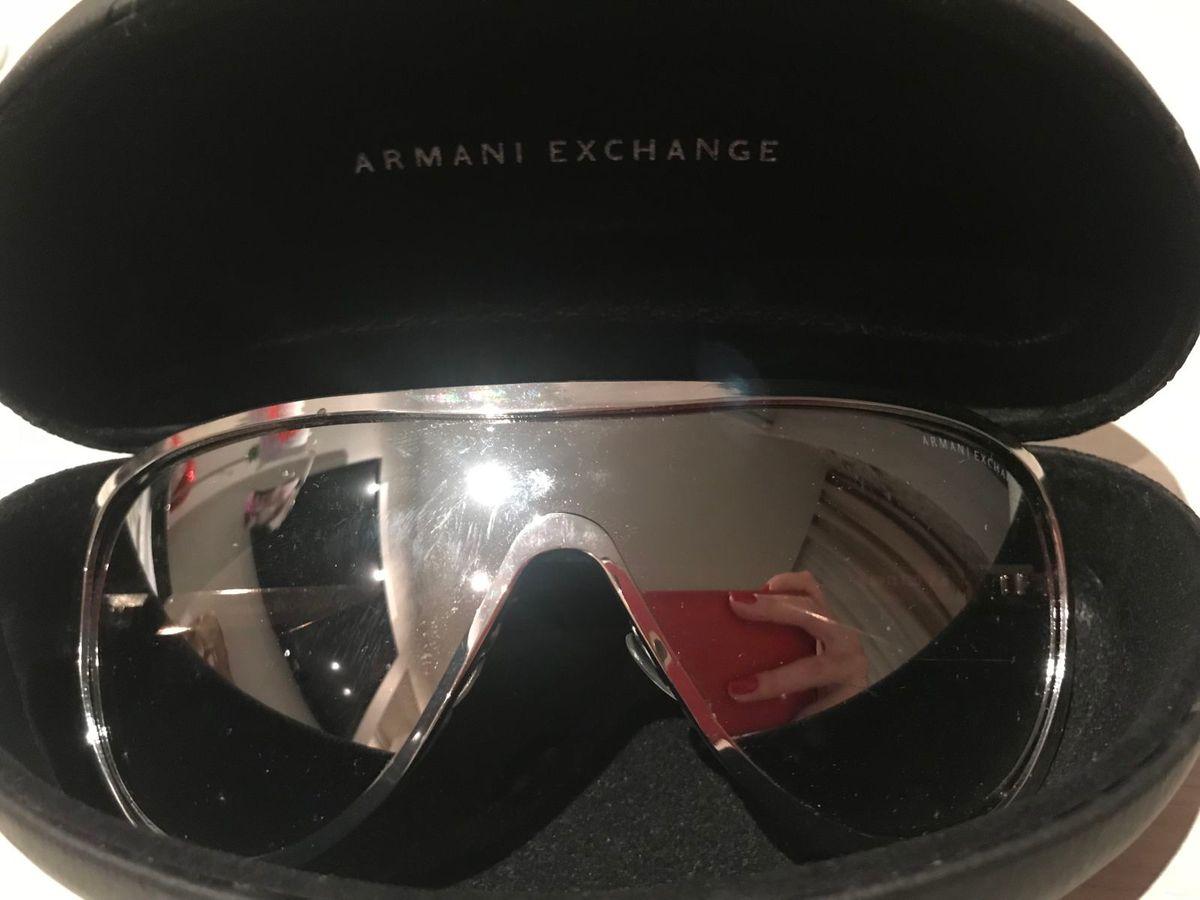 87d9eb02acc27 Óculos Espelhado Armani Exchange   Óculos Feminino Armani Exchange ...