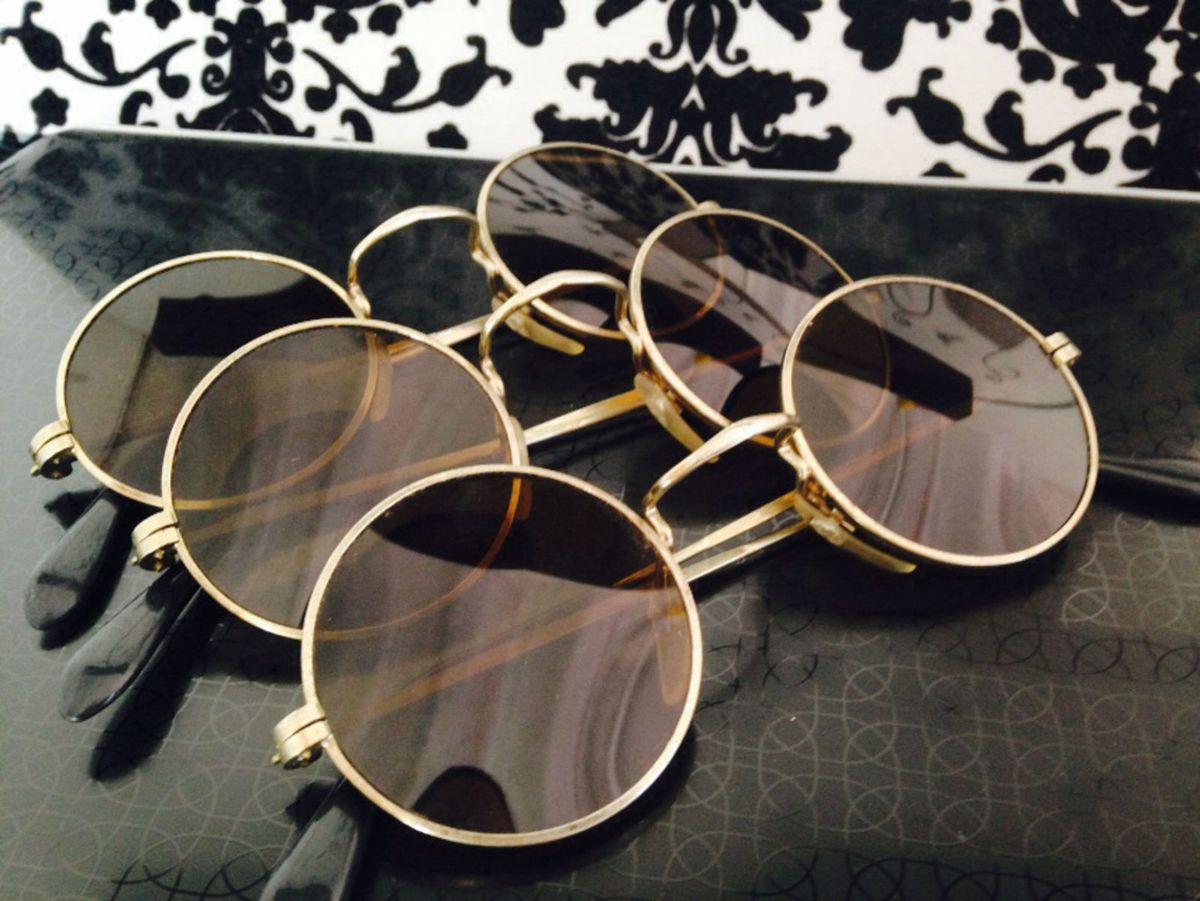 fd7d735d3f867 Óculos Estilo John Lennon   Óculos Feminino Sem Marca Usado 1282561   enjoei