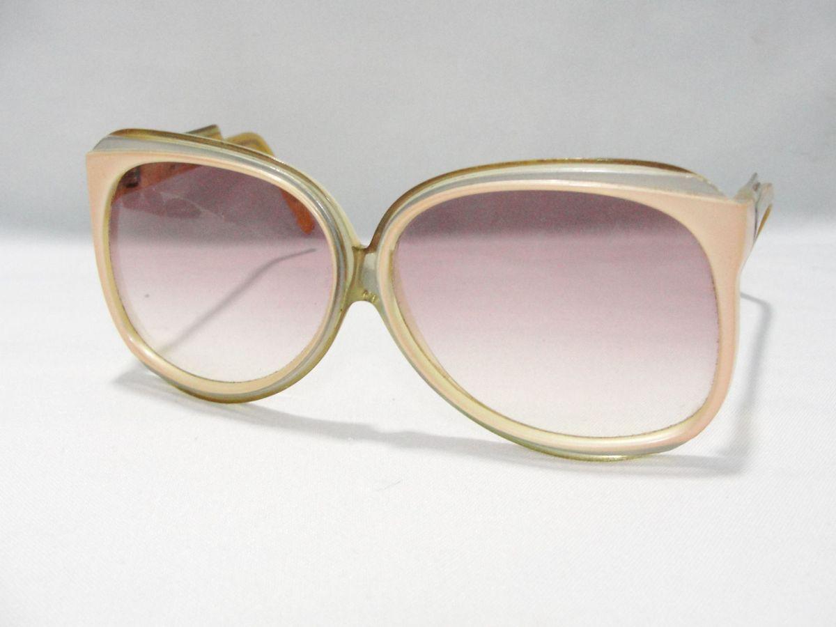 b9b672e1a Oculos Feminino Anos 70 Balenciaga Francês | Óculos Feminino ...
