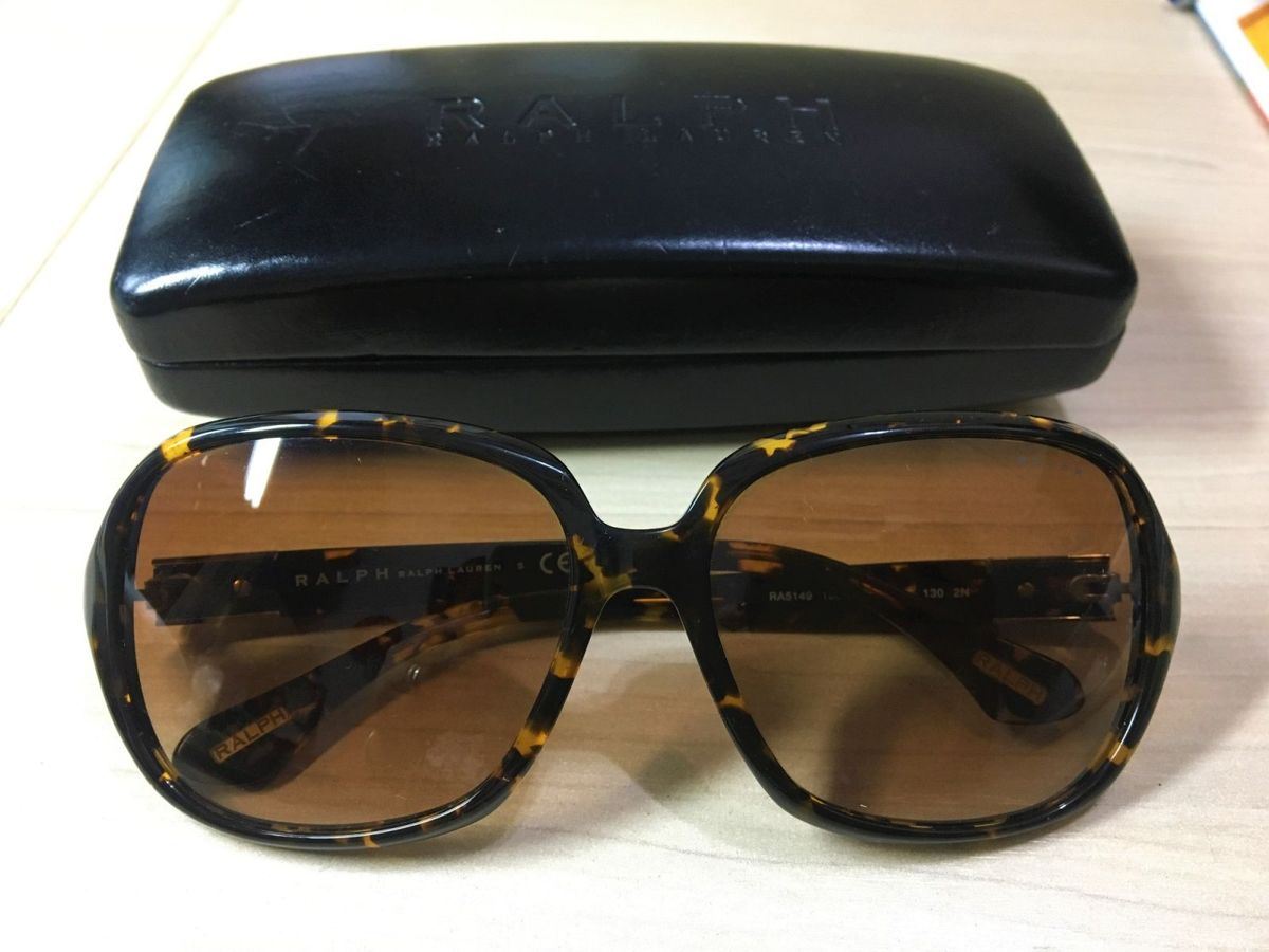 dec54df29 óculos feminino de acetato marrom ralph lauren original - óculos ralph- lauren