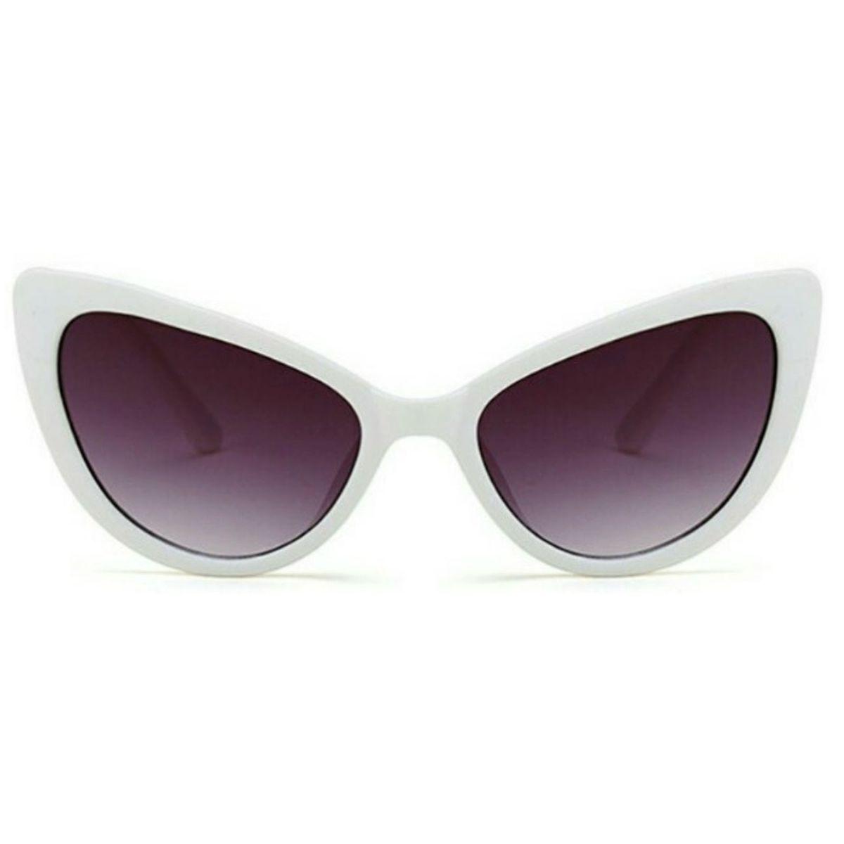 15c6247f7 Óculos Gatinho Retro Branco   Óculos Feminino Genie Vintage Usado 30910026    enjoei