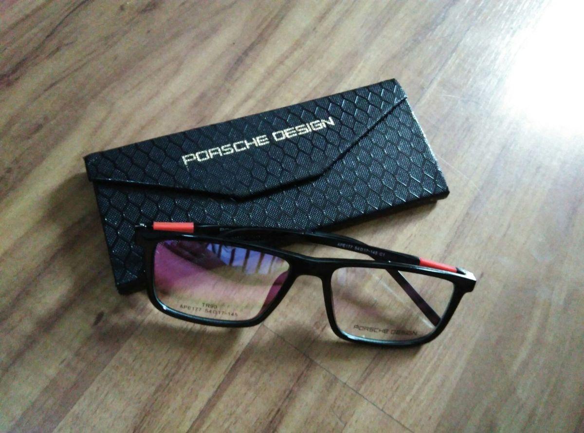 34bd8361eabc8 Óculos Grau Porsche Design   Óculos Masculino Porsche Design Nunca ...