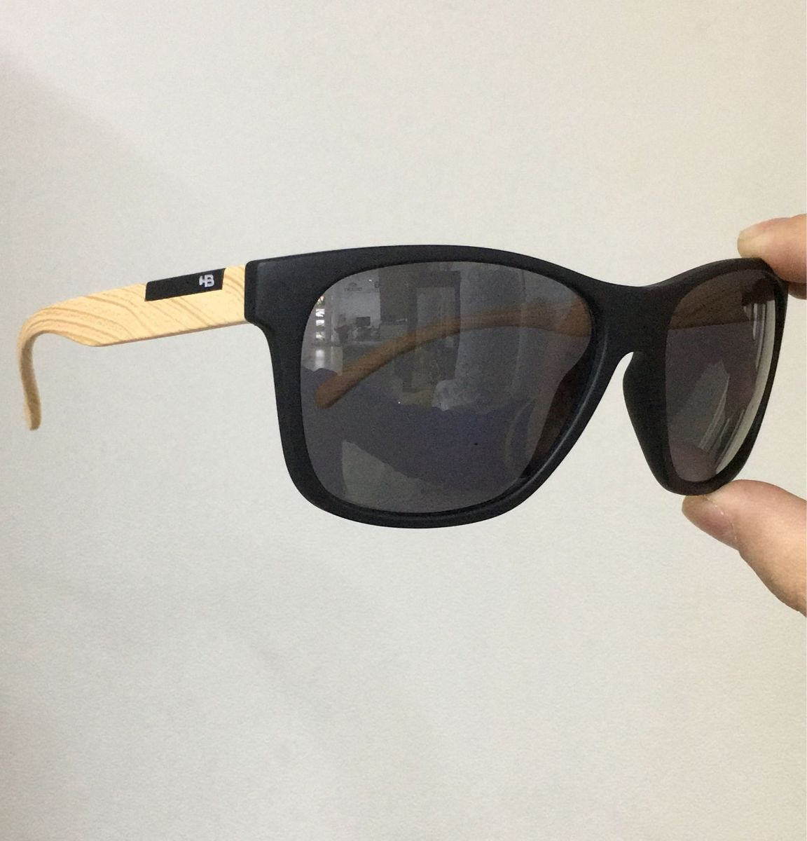 Óculos Hb com Haste Diferente   Óculos Masculino Hot Buttered Hb ... d3d5221d6d