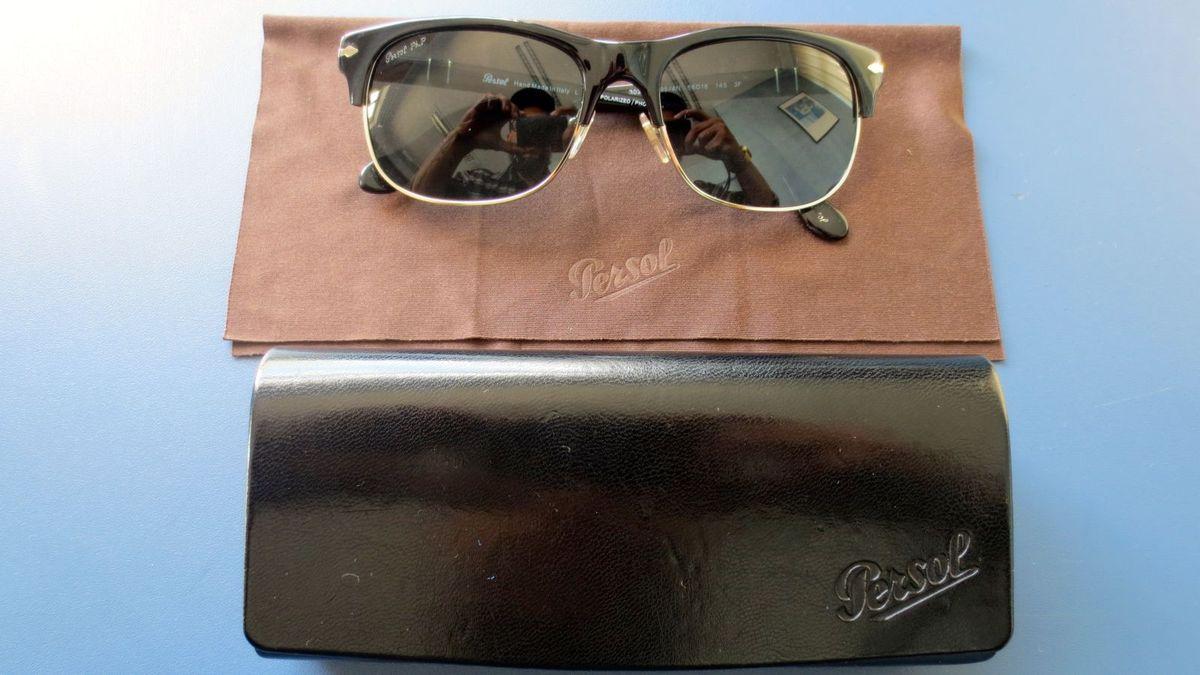a08526f16f1ac Óculos Italiano Persol Polarizado Original   Óculos Masculino Persol ...