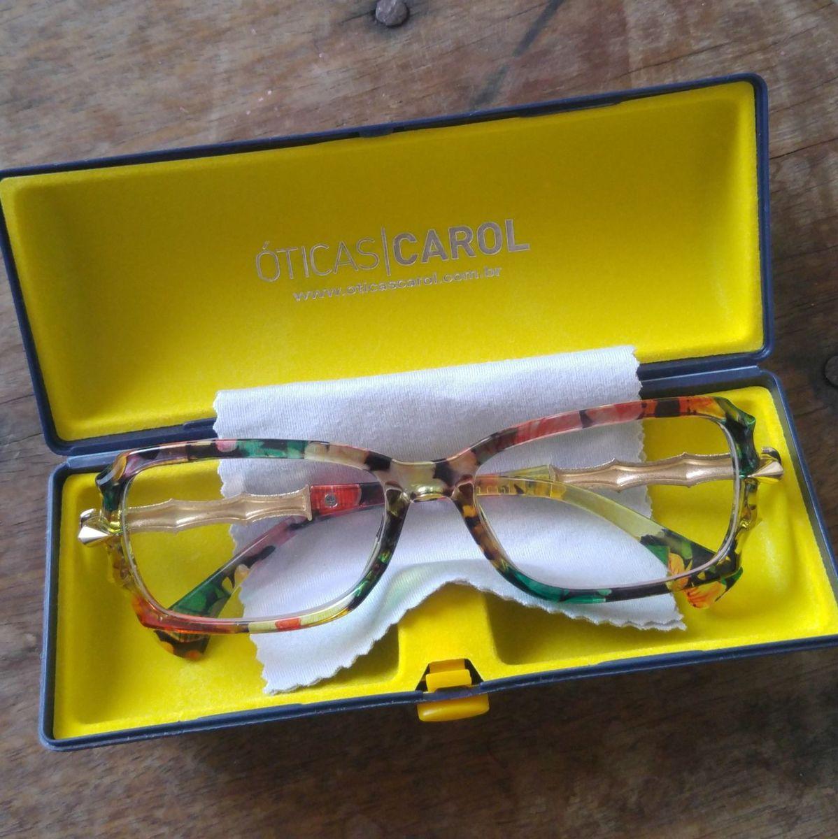 96aaff8055e61 Óculos + Lente Grau Descanso   Óculos Feminino Usado 28924702   enjoei