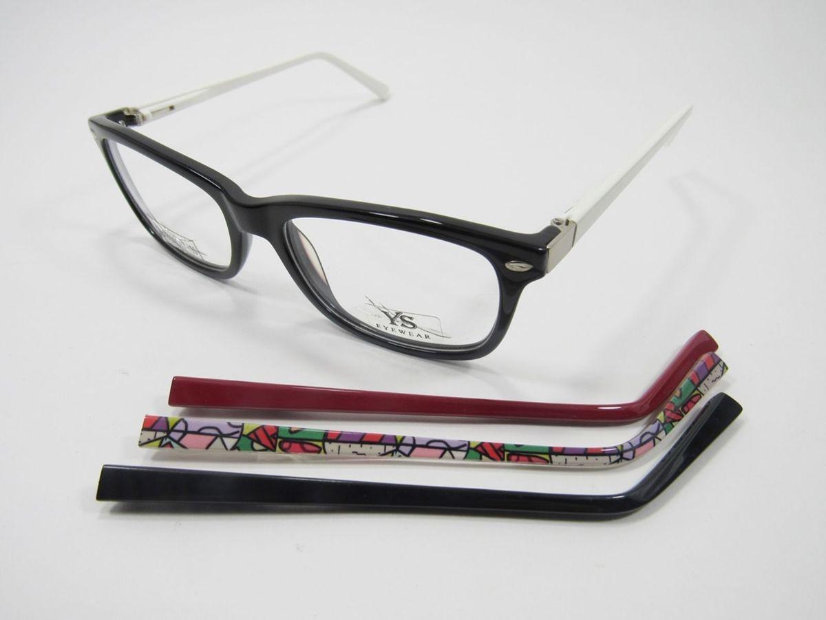 6dd1d75b2 óculos lindo em acetato troca hastes || uma haste com detalhes artisticos - óculos  ys