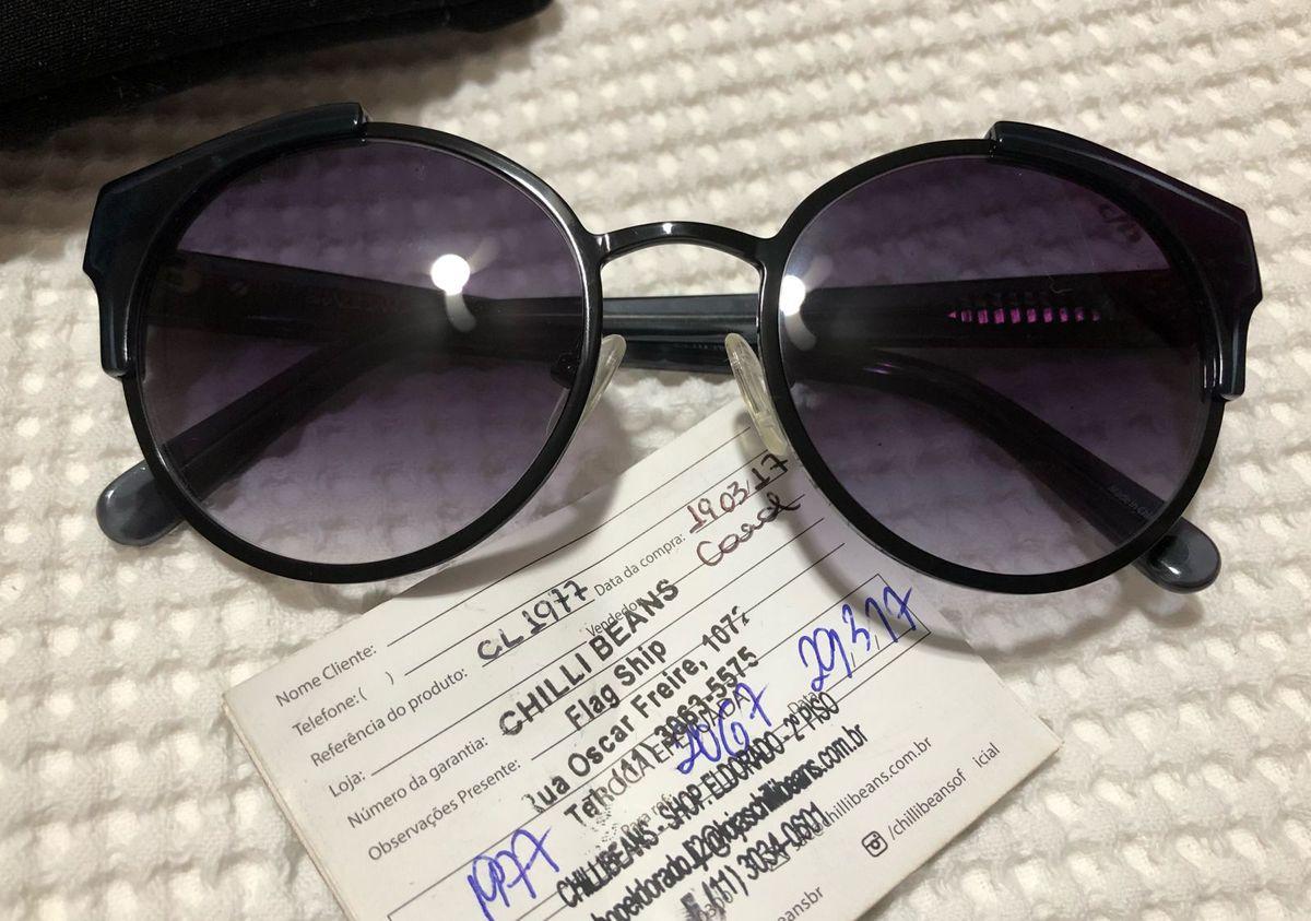 409edcb001b oculos lindo nunca usado - outros chilli-beans.  Czm6ly9wag90b3muzw5qb2vplmnvbs5ici9wcm9kdwn0cy82otc2ns8xmzrmmgnknwjhowu3mzuzmtlkmjvkzjg5yjyzymu2yy5qcgc  ...