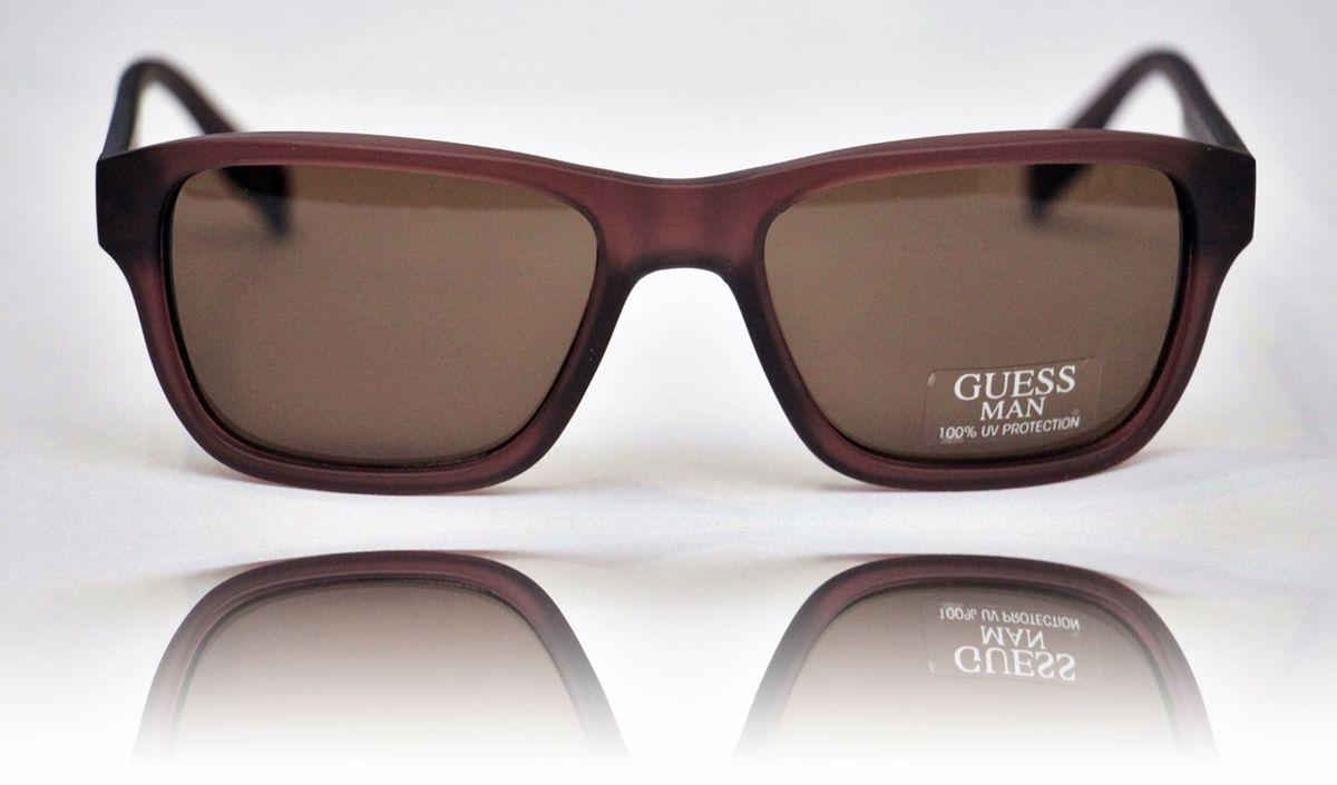 2ba1849e6 oculos masculino guess wayfarer marrom polarizado original (veio dos eua) - óculos  guess