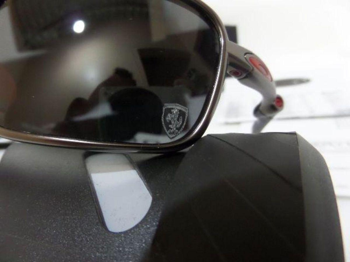 Óculos Oakley Badman Ferrari   Óculos Masculino Oakley Nunca Usado 25664438    enjoei f09d0ca83b