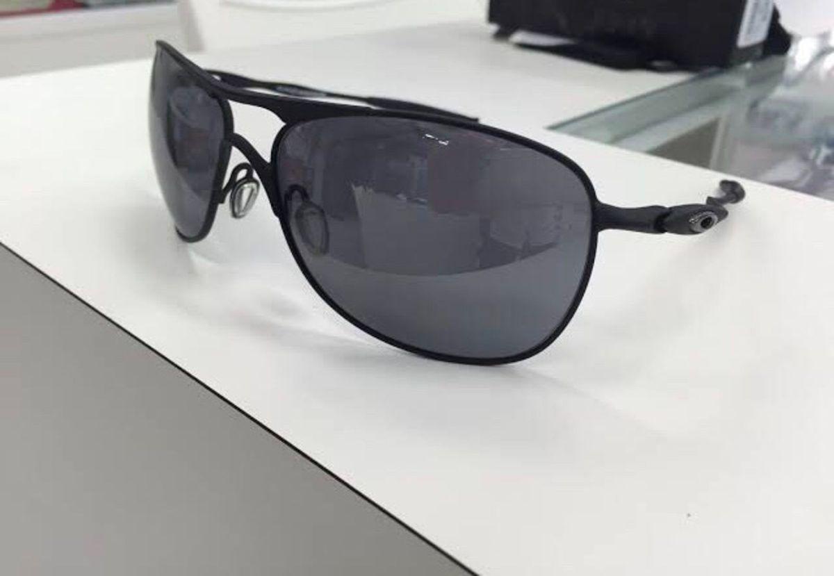 de1f7b335c33d Óculos Oakley Crosshair Black Iridium   Óculos Masculino Oakley ...