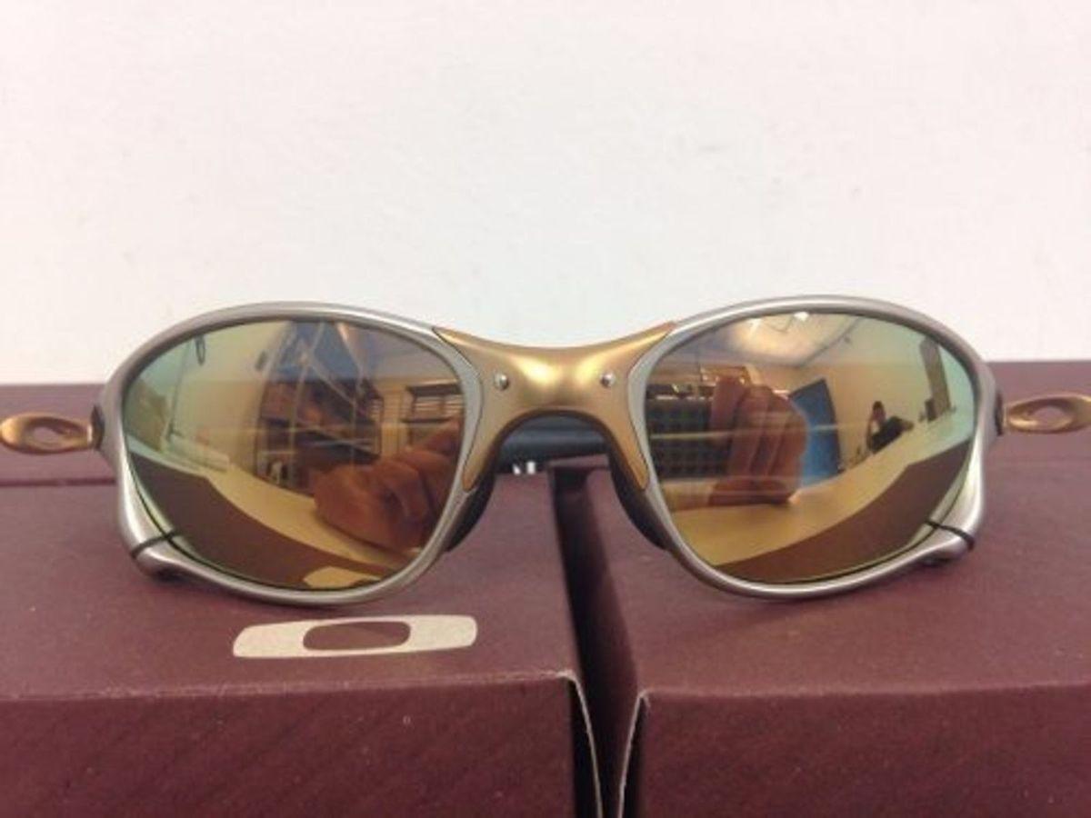 Óculos Oakley Double X 24k Armação de Metal Fosca Lente Polarizada   Óculos  Feminino Oakley Nunca Usado 15925773   enjoei 2f962145ba