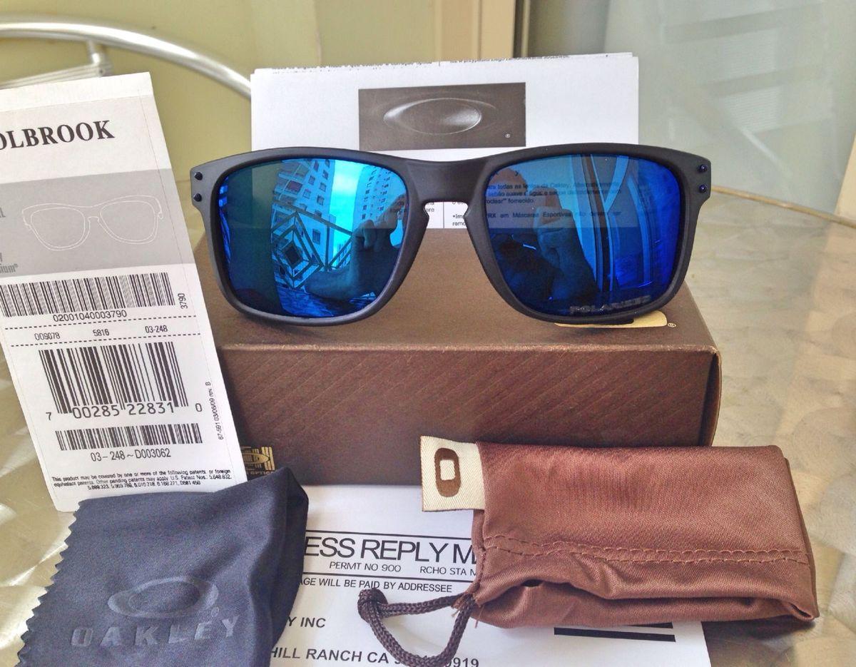 0a342b563d6ed óculos oakley holbrook 100% polarizado - óculos oakley