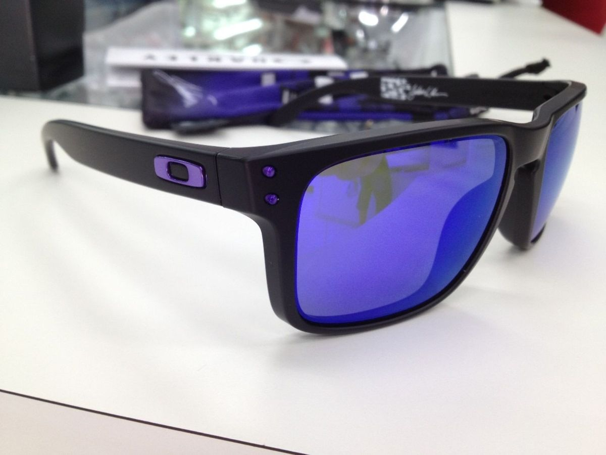 Óculos Oakley Holbrook Lente Roxa Polarizada   Óculos Feminino Oakley Nunca  Usado 15802879   enjoei 5919dcce08