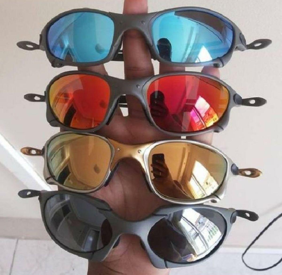 Oculos Oakley Juliet 24k Masculino   Óculos Masculino Nunca Usado ... 4c38a9f483