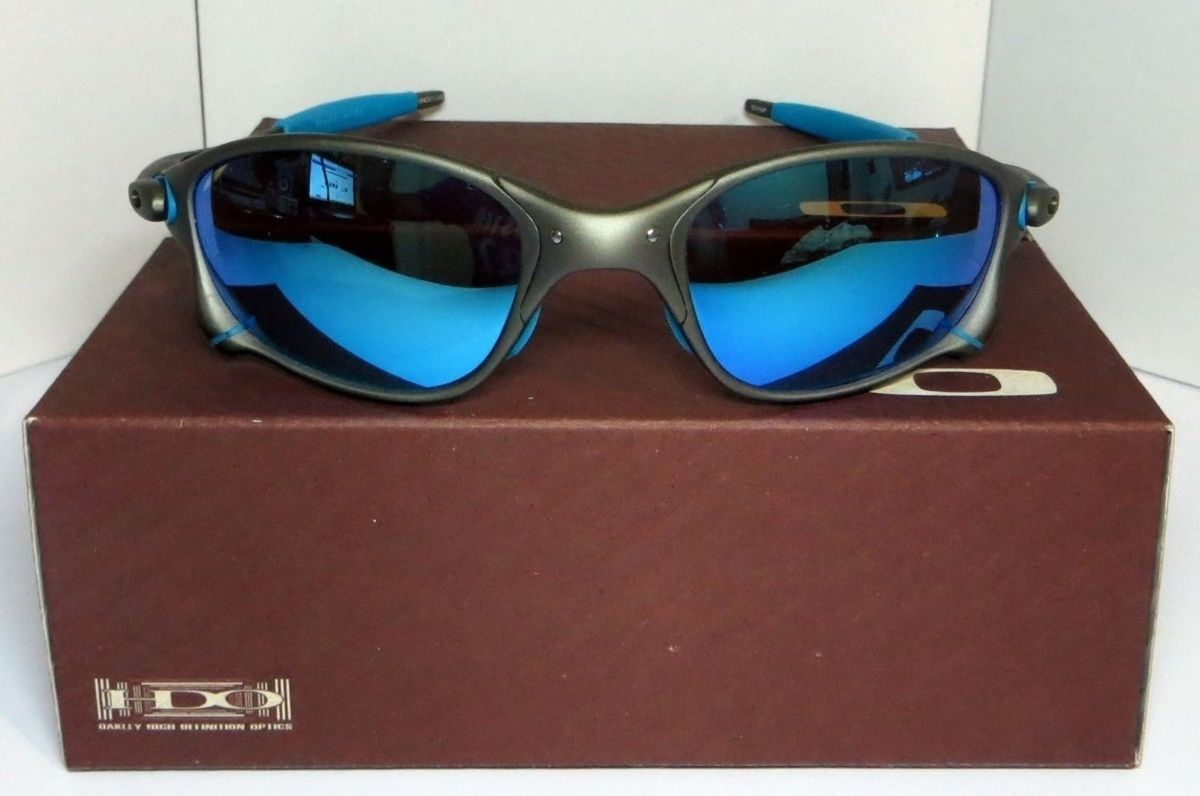 Oculos Oakley Juliet 24k   Óculos Masculino Oakley Nunca Usado 20113655    enjoei 99d29fb454