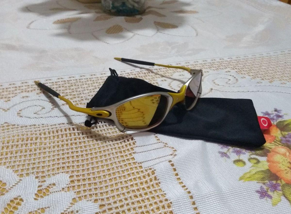 Óculos Oakley Juliet 24k   Óculos Masculino Oakley Nunca Usado 30218074    enjoei b1e46d1d5d
