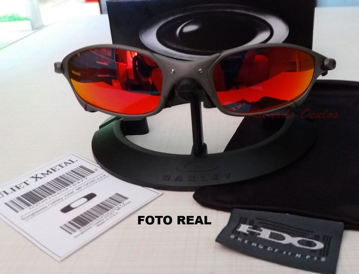 55124e2e0 Óculos Oakley Juliet Lente Ruby a Pronta Entrega   Óculos Masculino ...