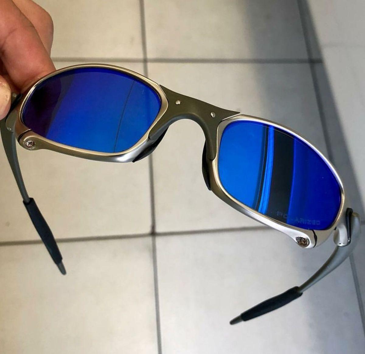 Oculos Oakley Juliet Masculino   Óculos Masculino Nunca Usado ... a6c5fb7bed