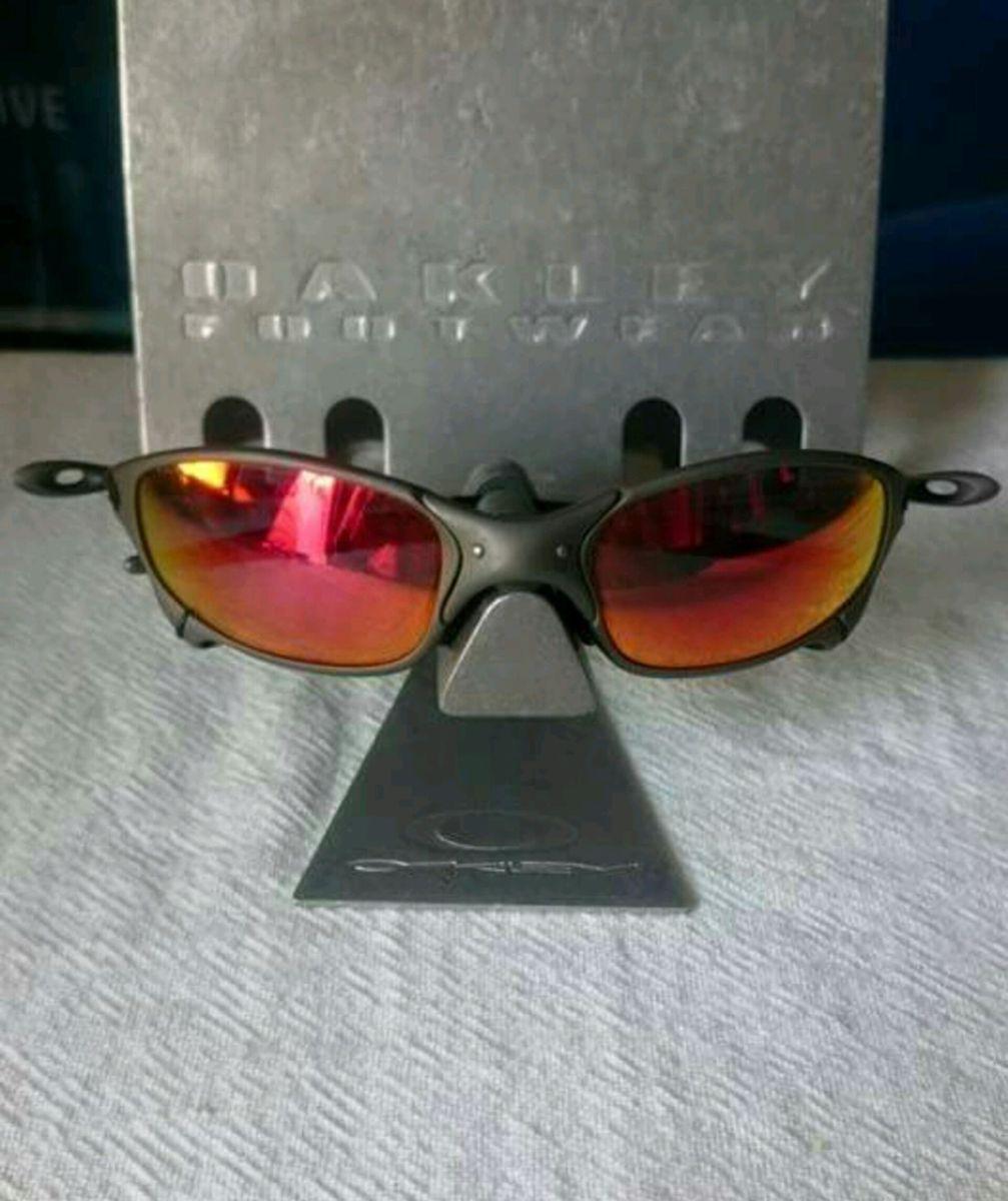 Óculos Oakley Juliet X-metal Original   Óculos Masculino Oakley ... 41eef02a37